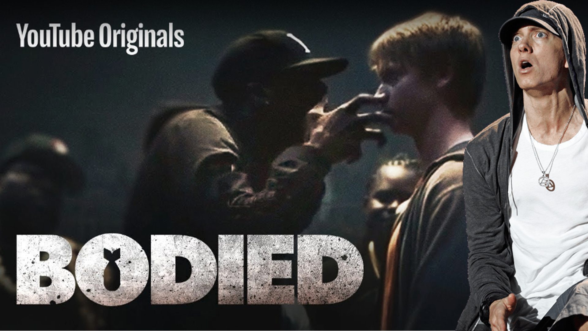 "Eminem released the ""Bodied"" film and snippet of the new track"