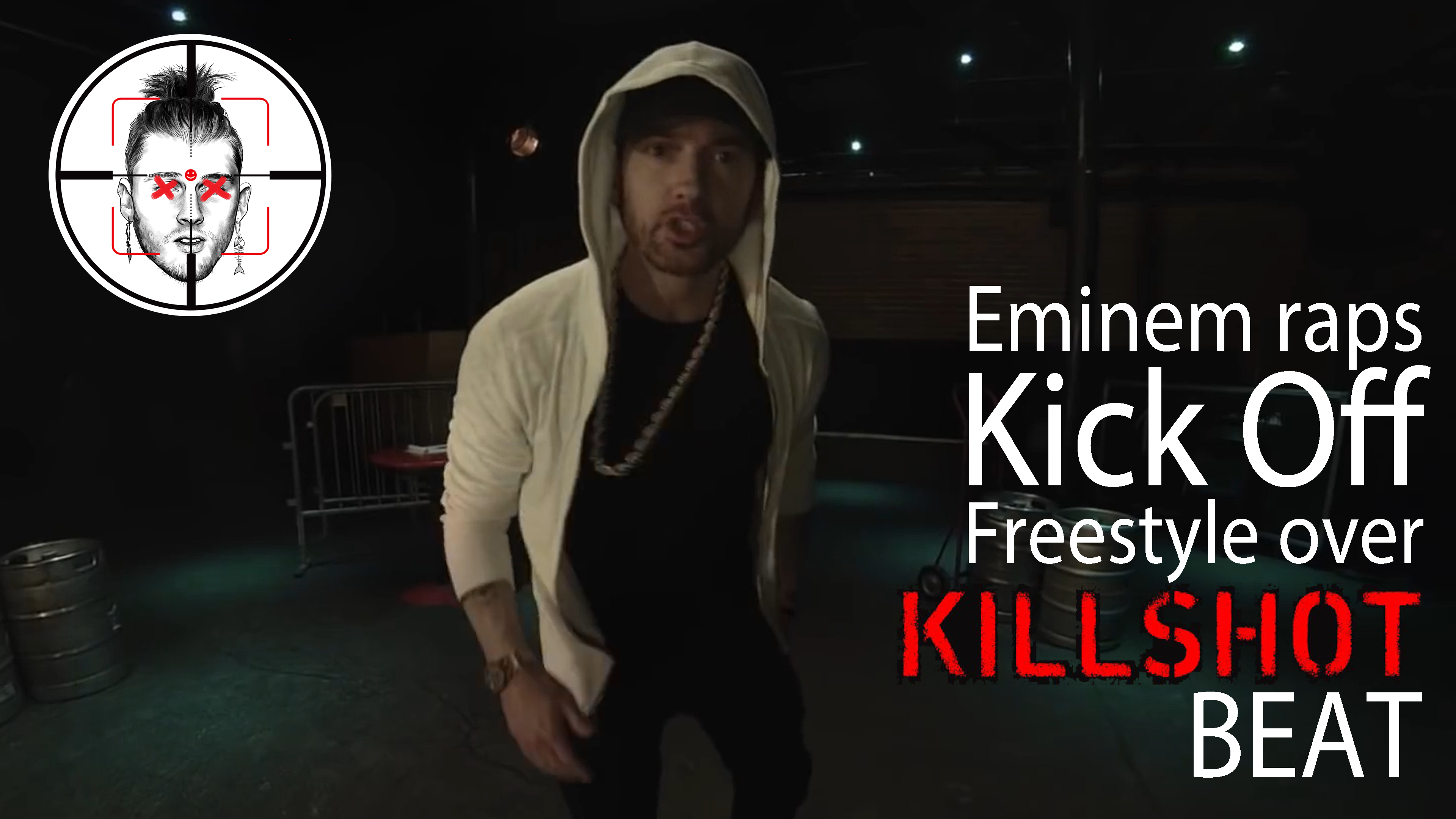 "Watch now: Eminem raps ""Kick Off"" Freestyle over ""Killshot"" beat"