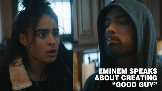 Eminem speaks about creating Good Guy and about Jessie Reyez