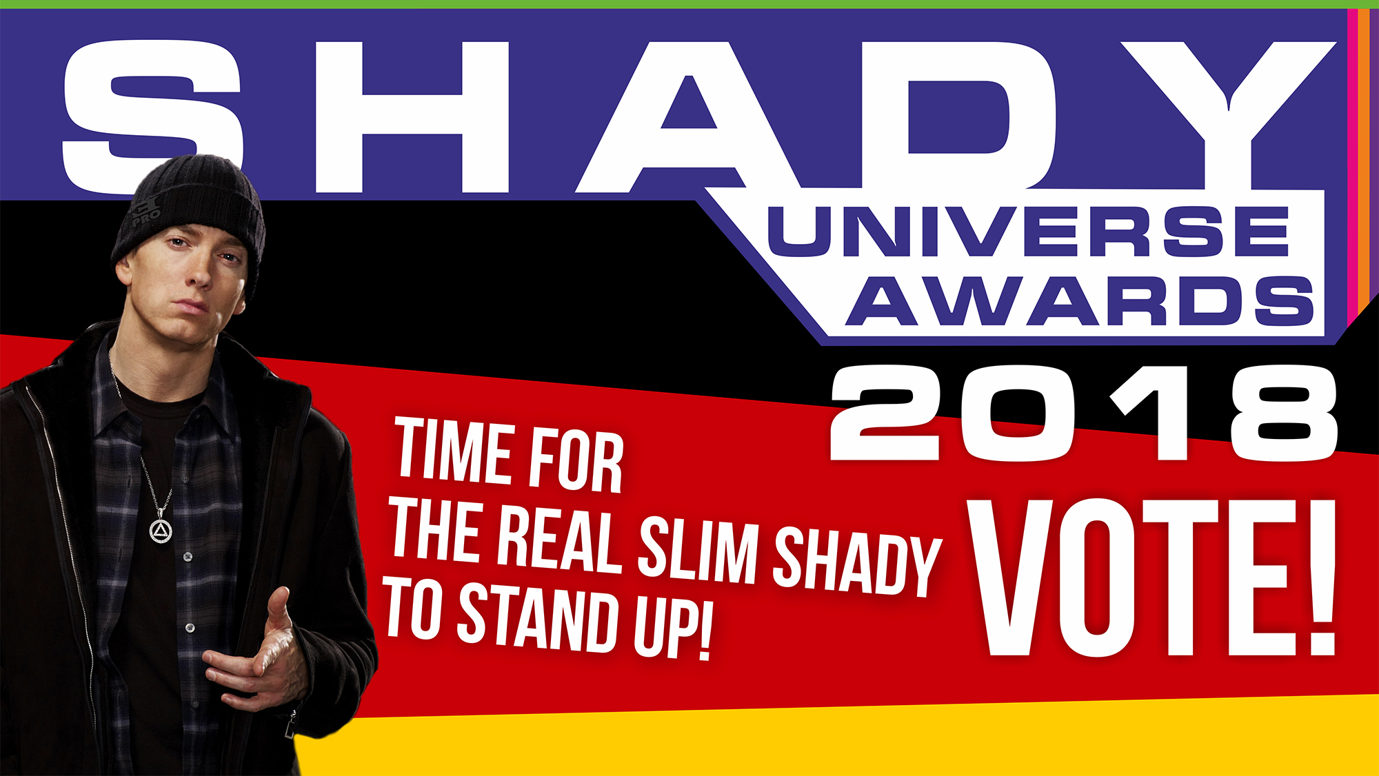 Shady Universe Awards 2018: Time for the Real Slim Shady to Stand Up!