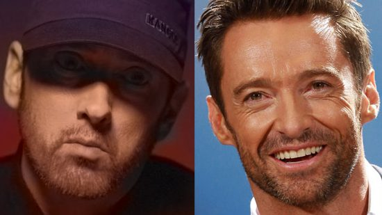 "Hugh Jackman is training to the Eminem's ""Kamikaze"" album track"