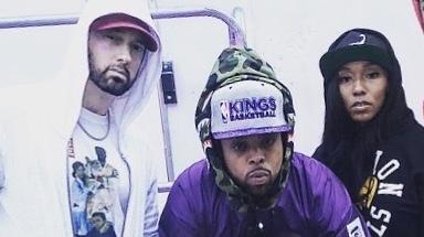 Eminem and Westside Gunn2018