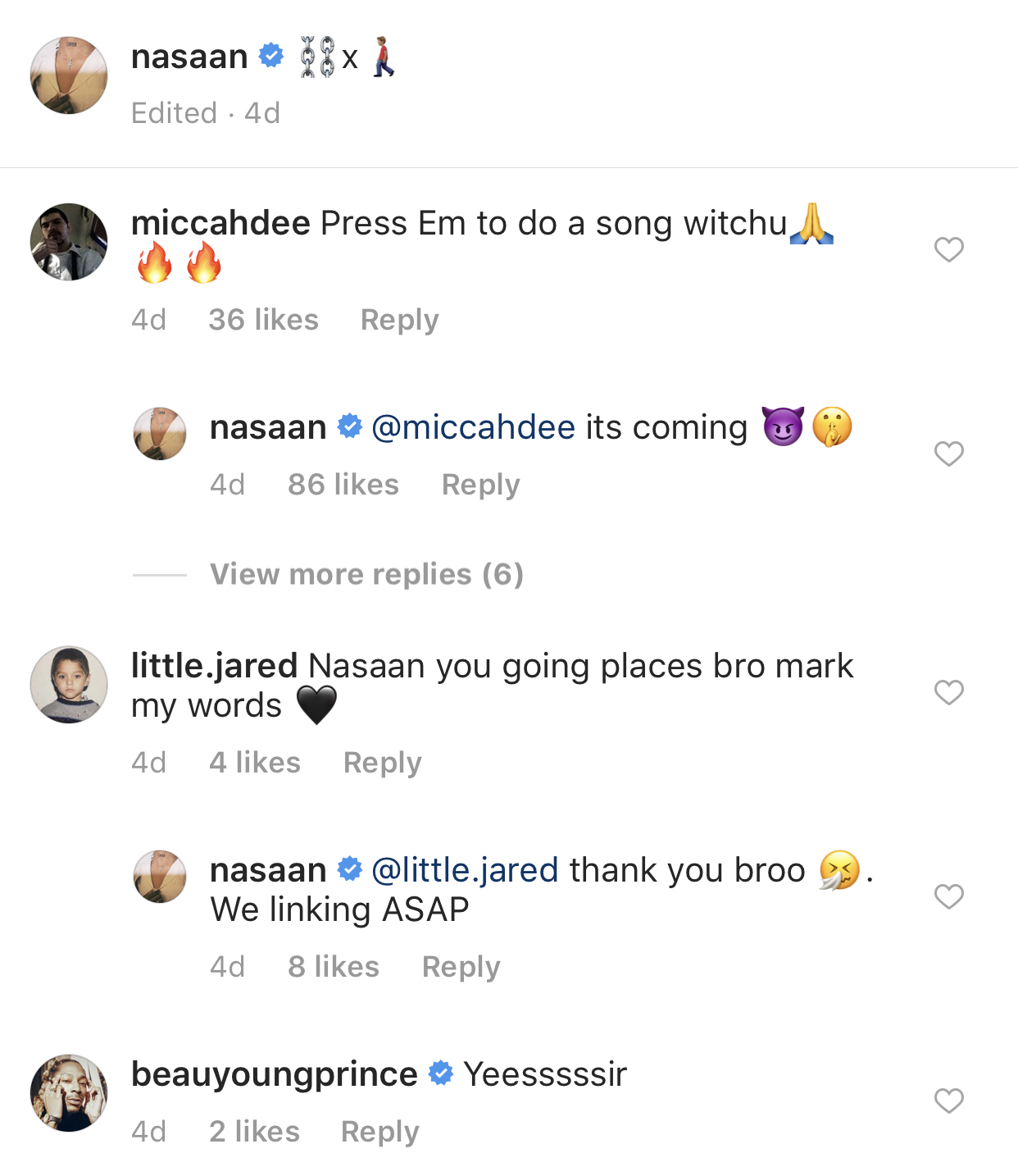 Nasaan confirmed future collabo with Eminem