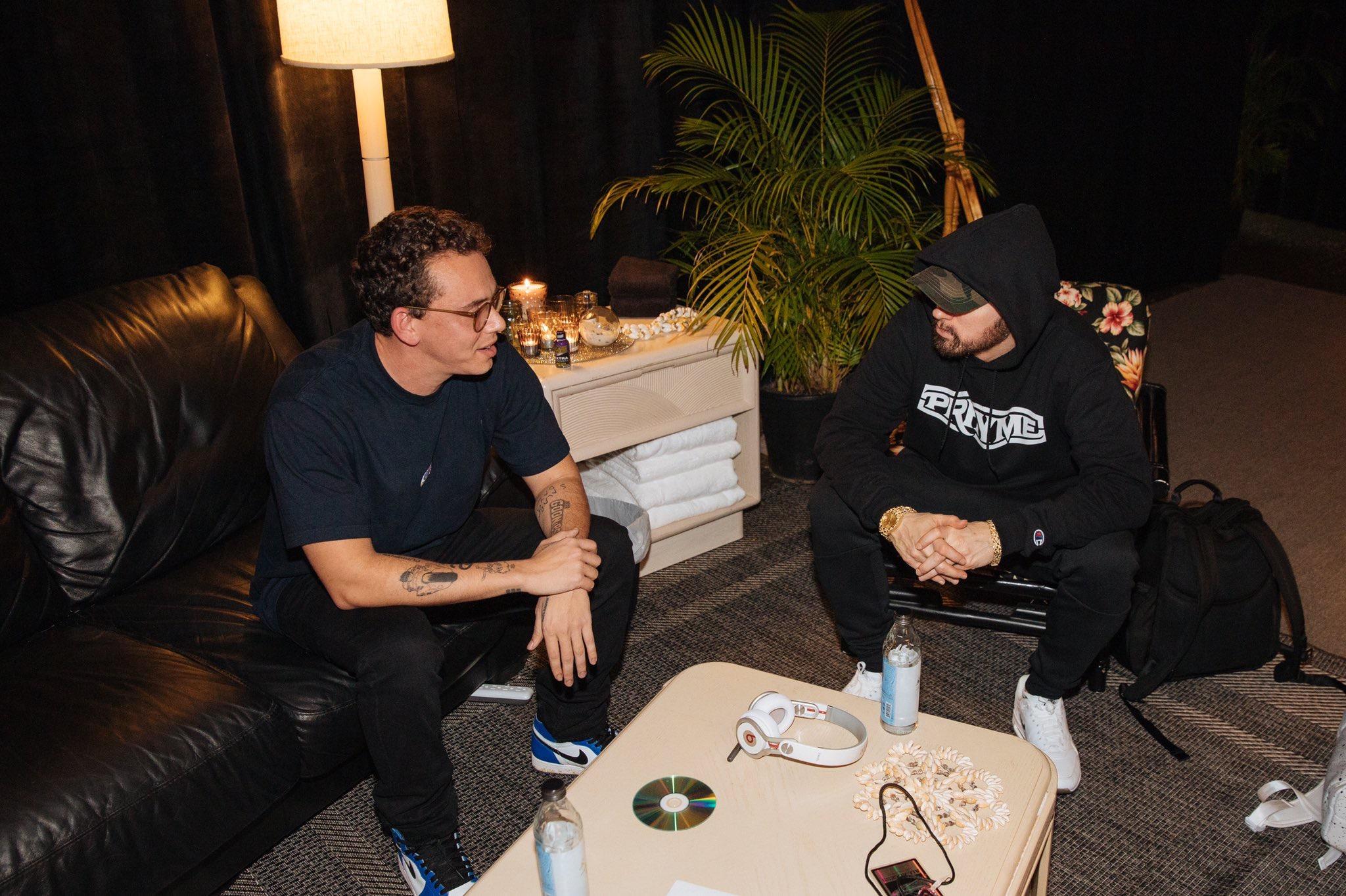 New Logic feat  Eminem