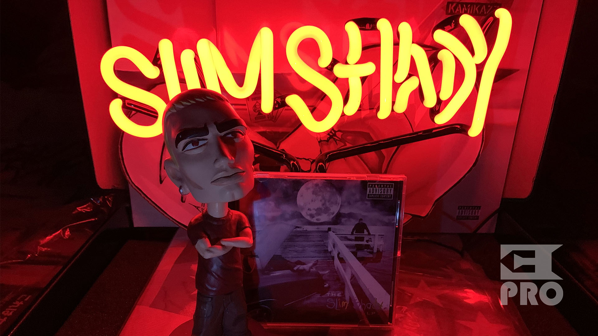 Unpacking: 'Slim Shady Neon Light' dedicated to 20th anniversary of The Slim Shady LP