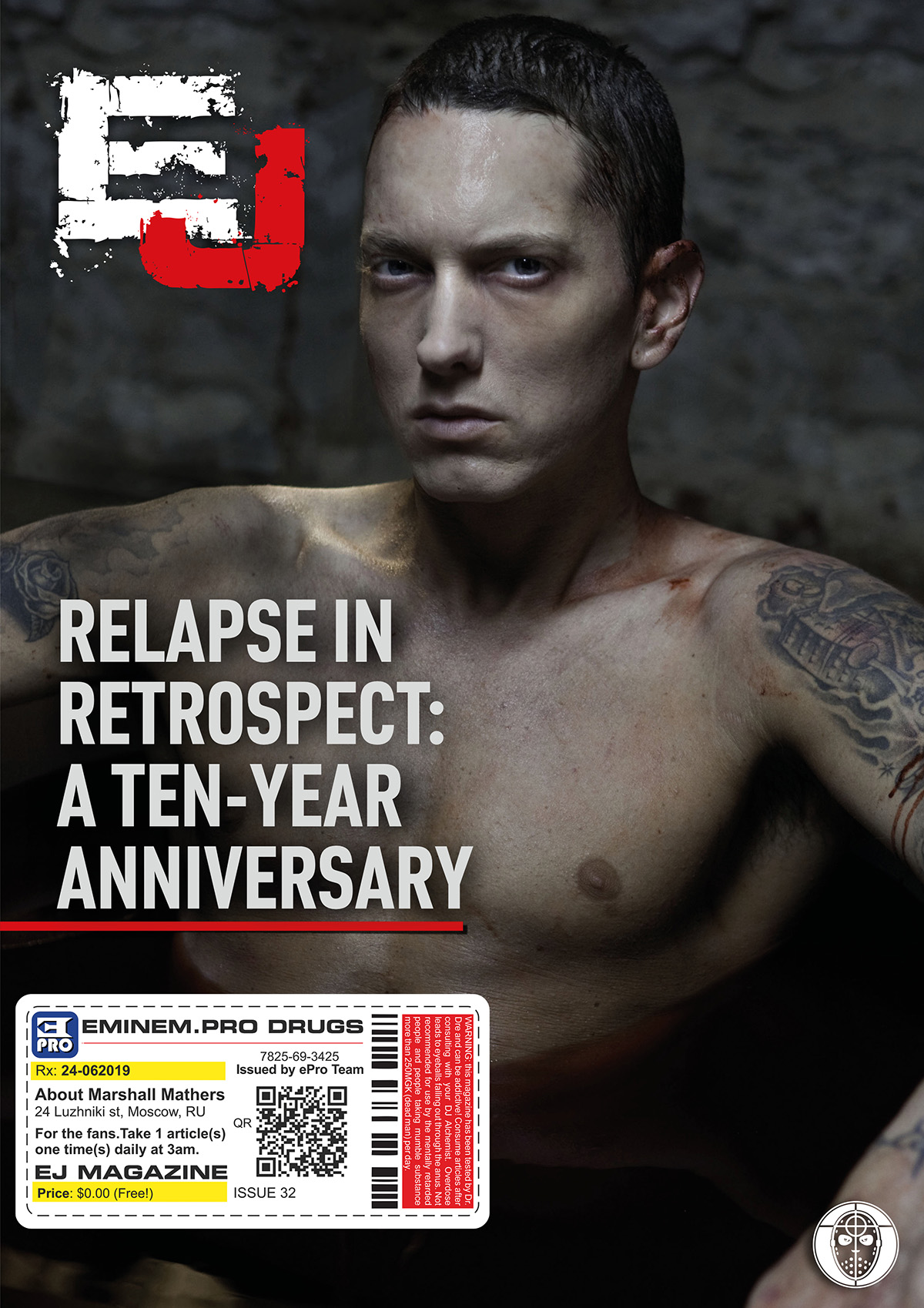 EJ Magazine #32 Cover 3 ePro Exclusive