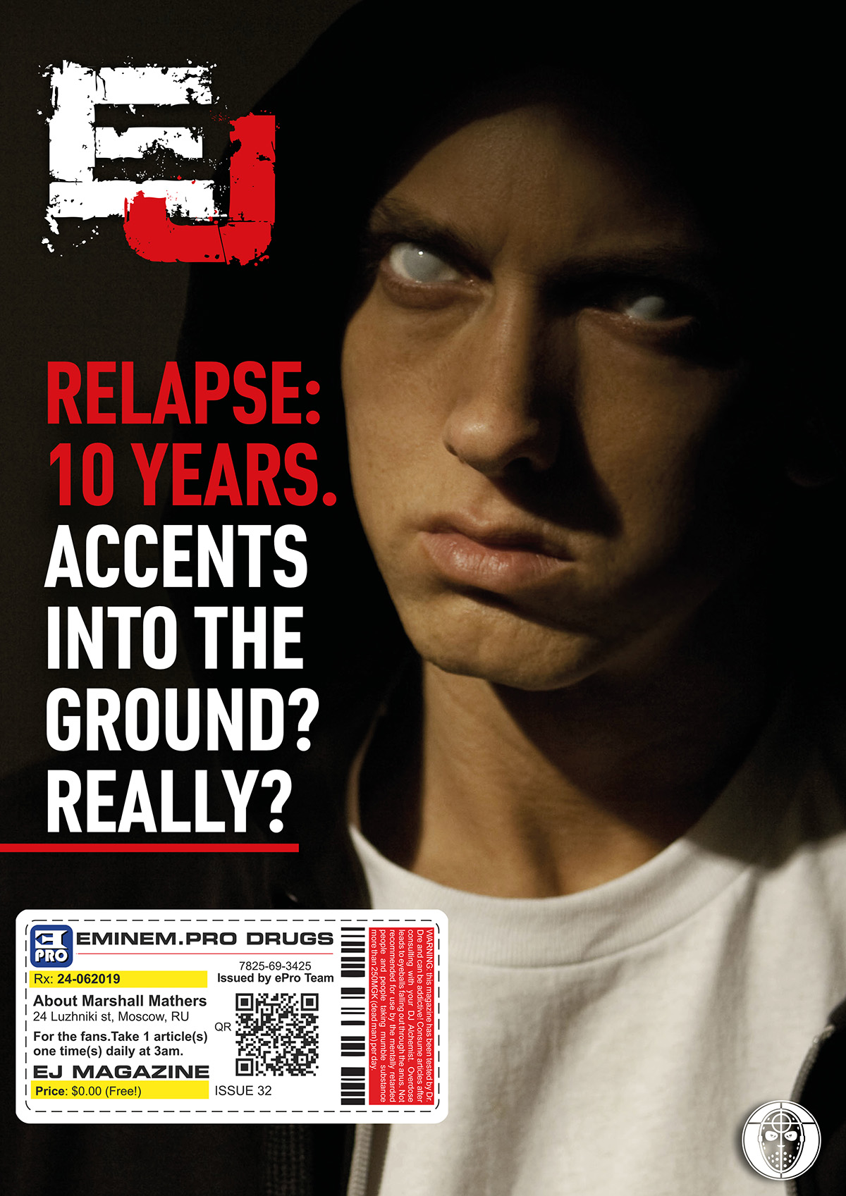 EJ Magazine #32 Cover 2 ePro Exclusive