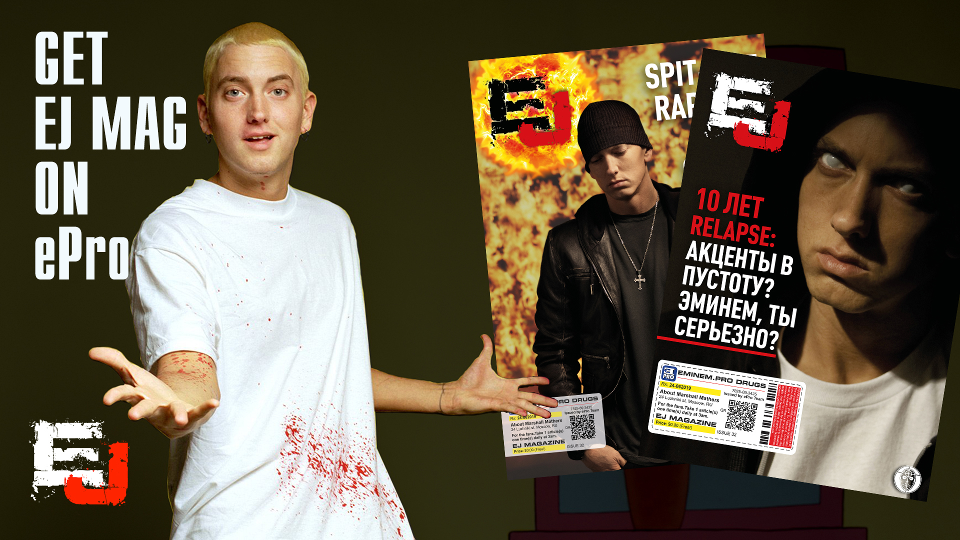 "Exclusive Eminem.Pro article from our editor for the twentieth anniversary of one of Eminem's greatest works - ""The Slim Shady LP"", which brought him worldwide recognition."
