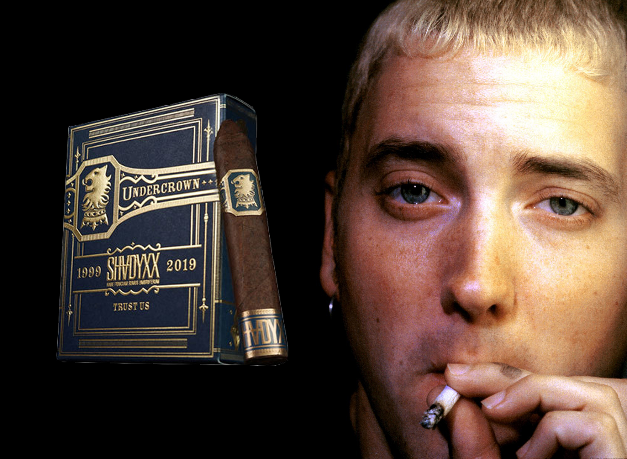 Eminem's Shady Records To Collaborates With Drew Estate For Shady XX Cigars