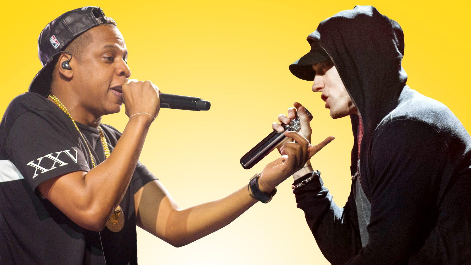 Eminem and Jay-Z