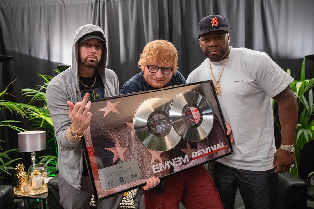 2019.07.12 - Eminem, Ed Sheeran, 50 Cent