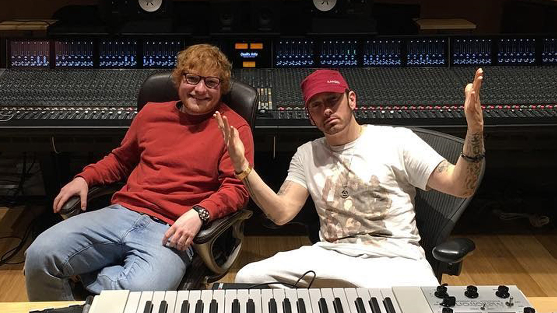 2017.12.13 - Ed Sheeran and Eminem epro HQ