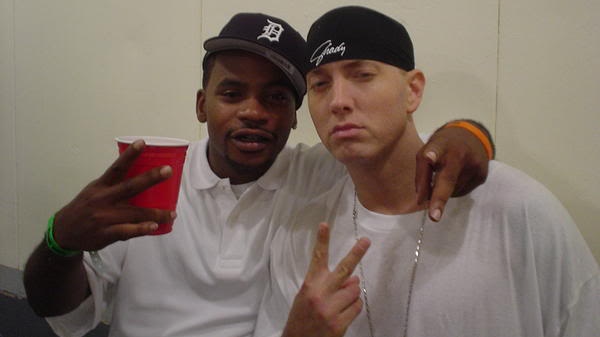 Eminem and Obie Trice