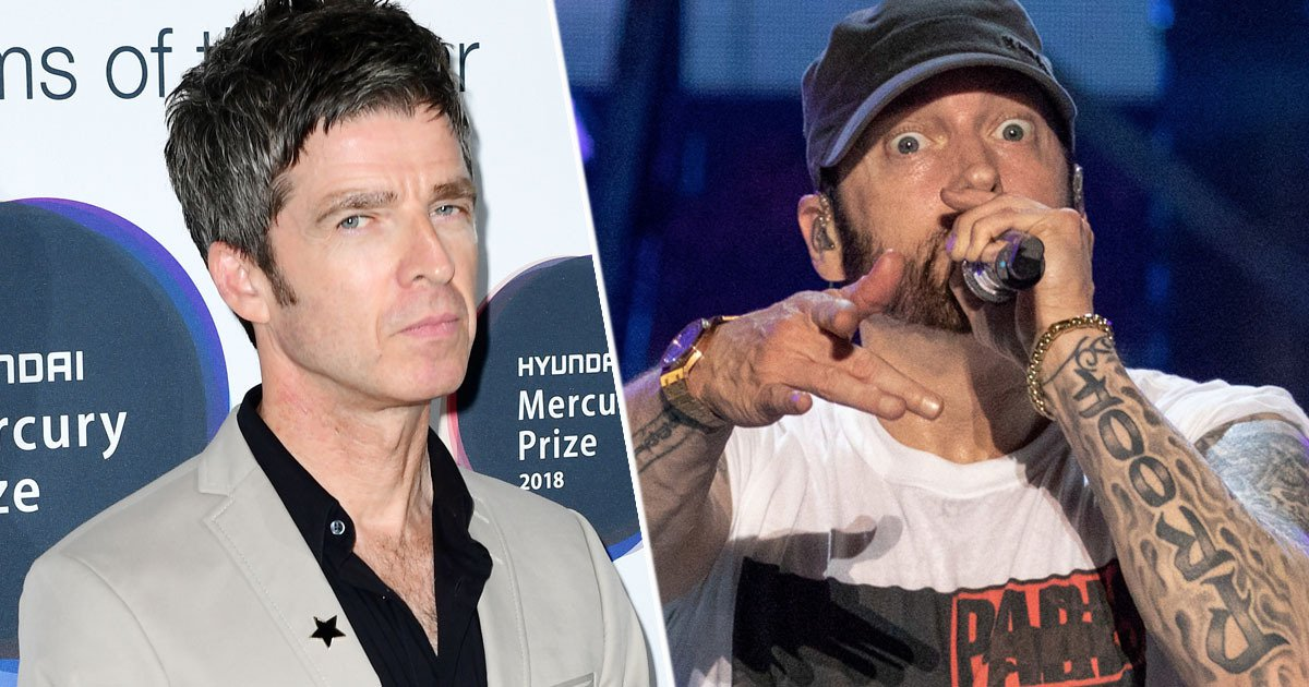 Noel Gallagher Disapproves Eminem's Songs about Drug Addiction
