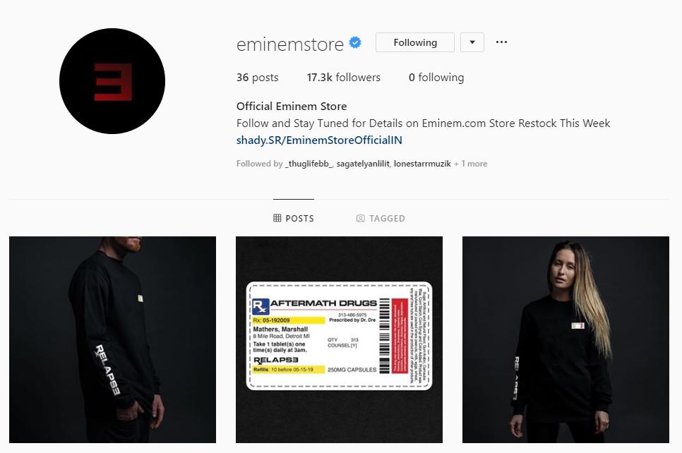 Another Provement That Eminem Is Preparing New Album