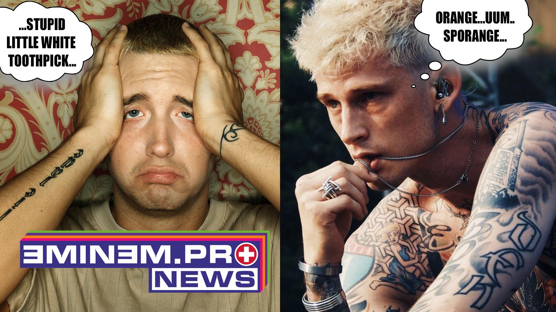 MGK Trolls Eminem at The Kamikaze Anniversary