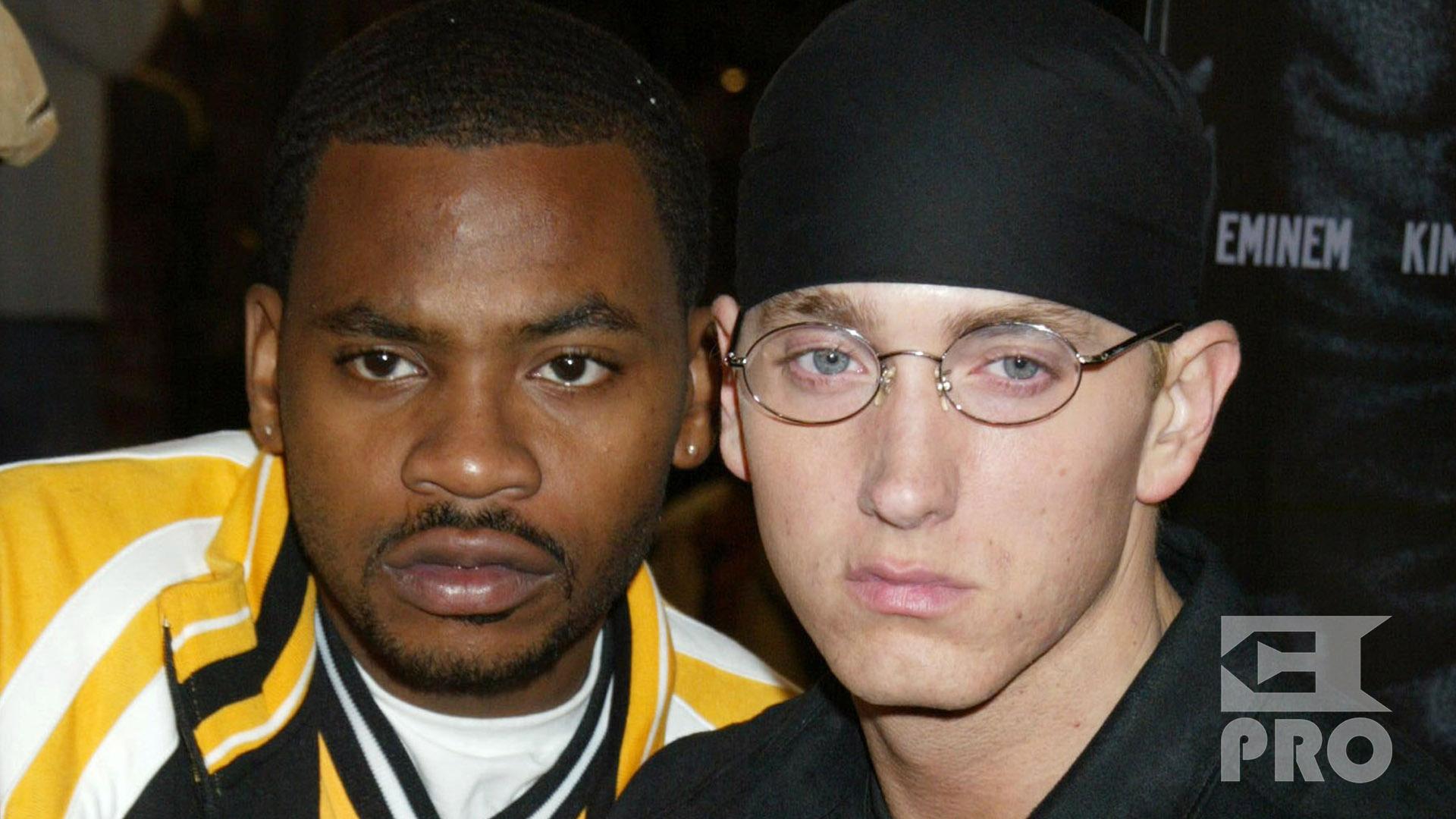 Eminem and Obie Trice