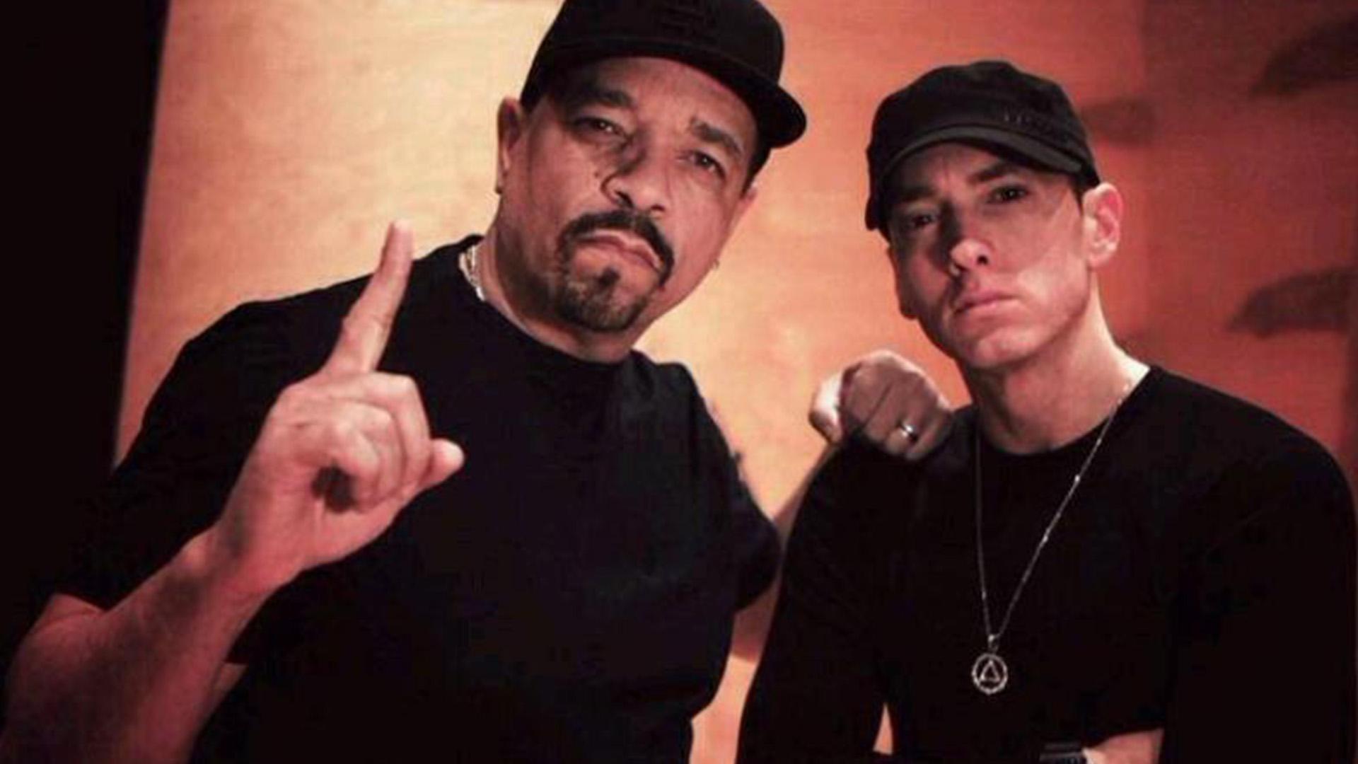 Ice-T: White kids Booed Eminem on Stage