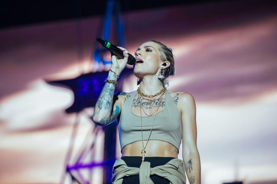 Eminem's show in Abu Dhabi on Friday night 25.10.2019. Photos by Jeremy Deputat.