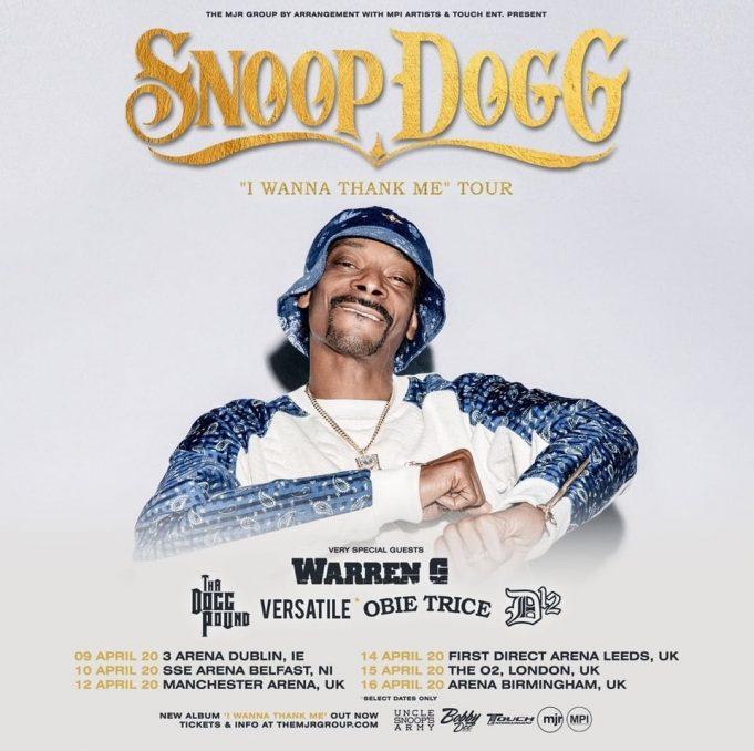 Eminem Tour 2020.Snoop Dogg Brings D12 And Obie Trice To Uk Eminem Pro
