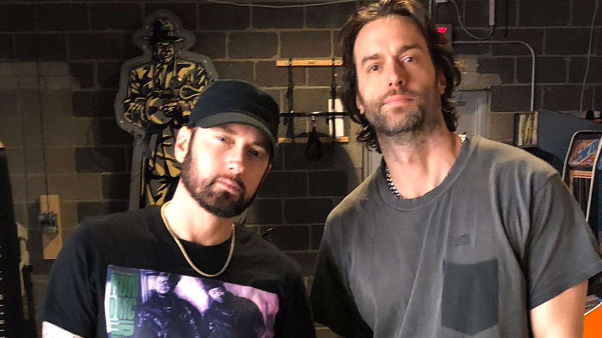 2019.11.08 - Eminem and Chris D'Elia