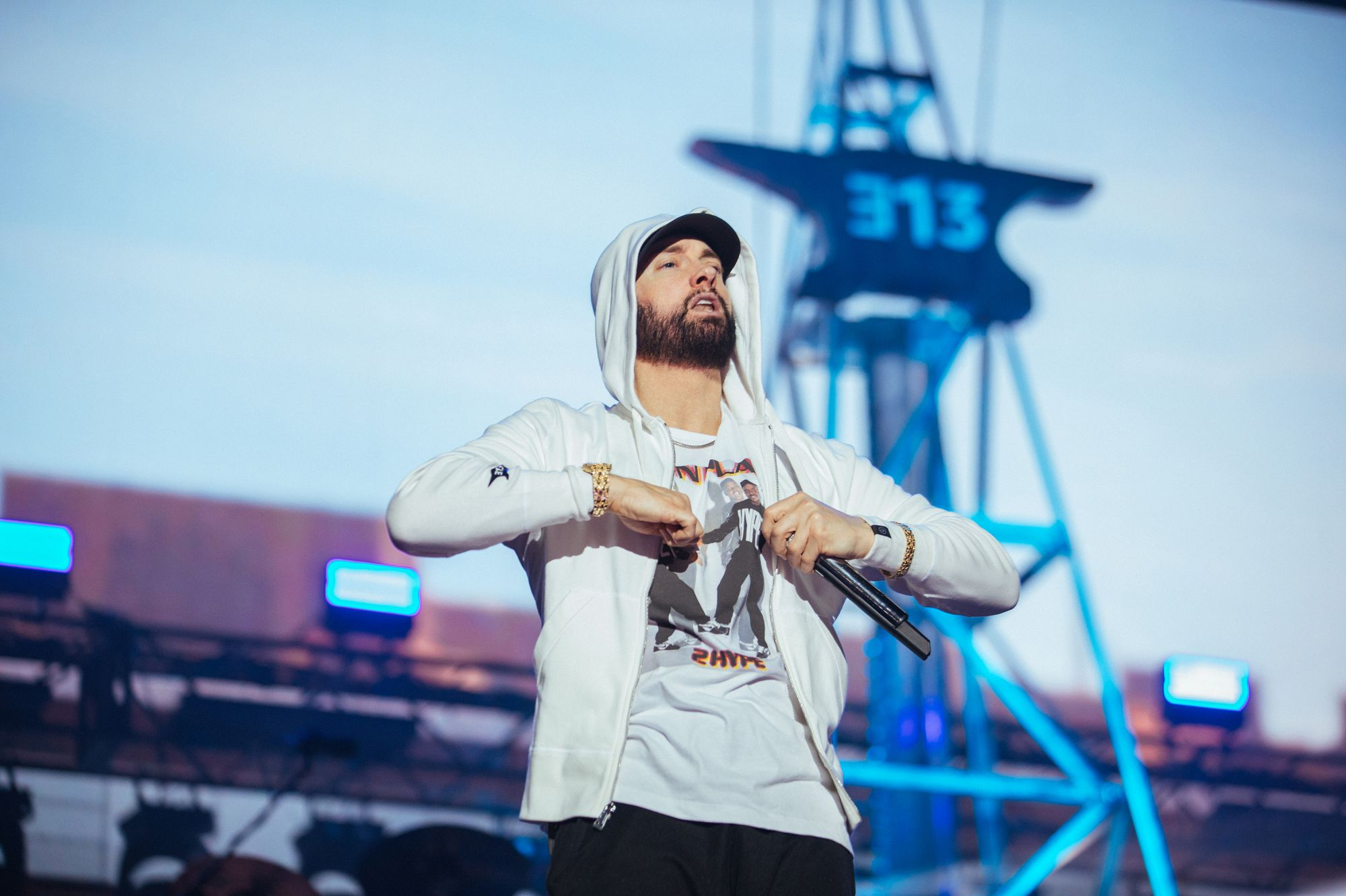 Eminem Live at Abu Dhabi 2019 photo bu Jeremy Deputat