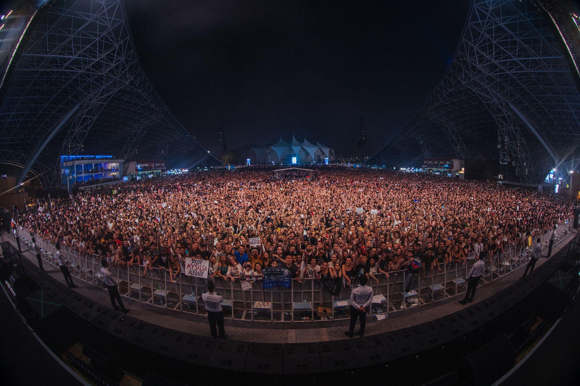 Eminem Live at Abu Dhabi 2019 photo bu Jeremy Deputat