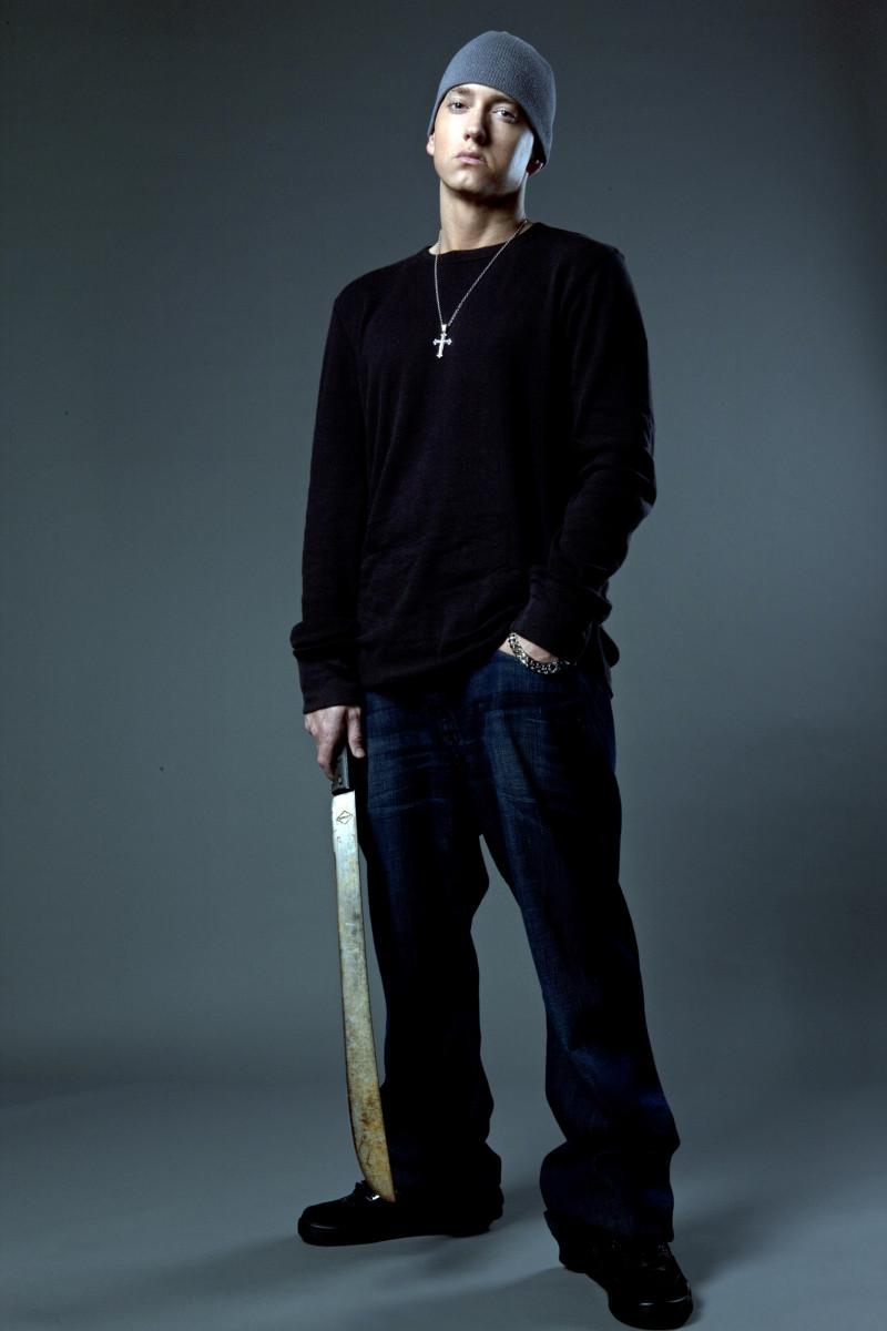 2009 Relapse Eminem machete