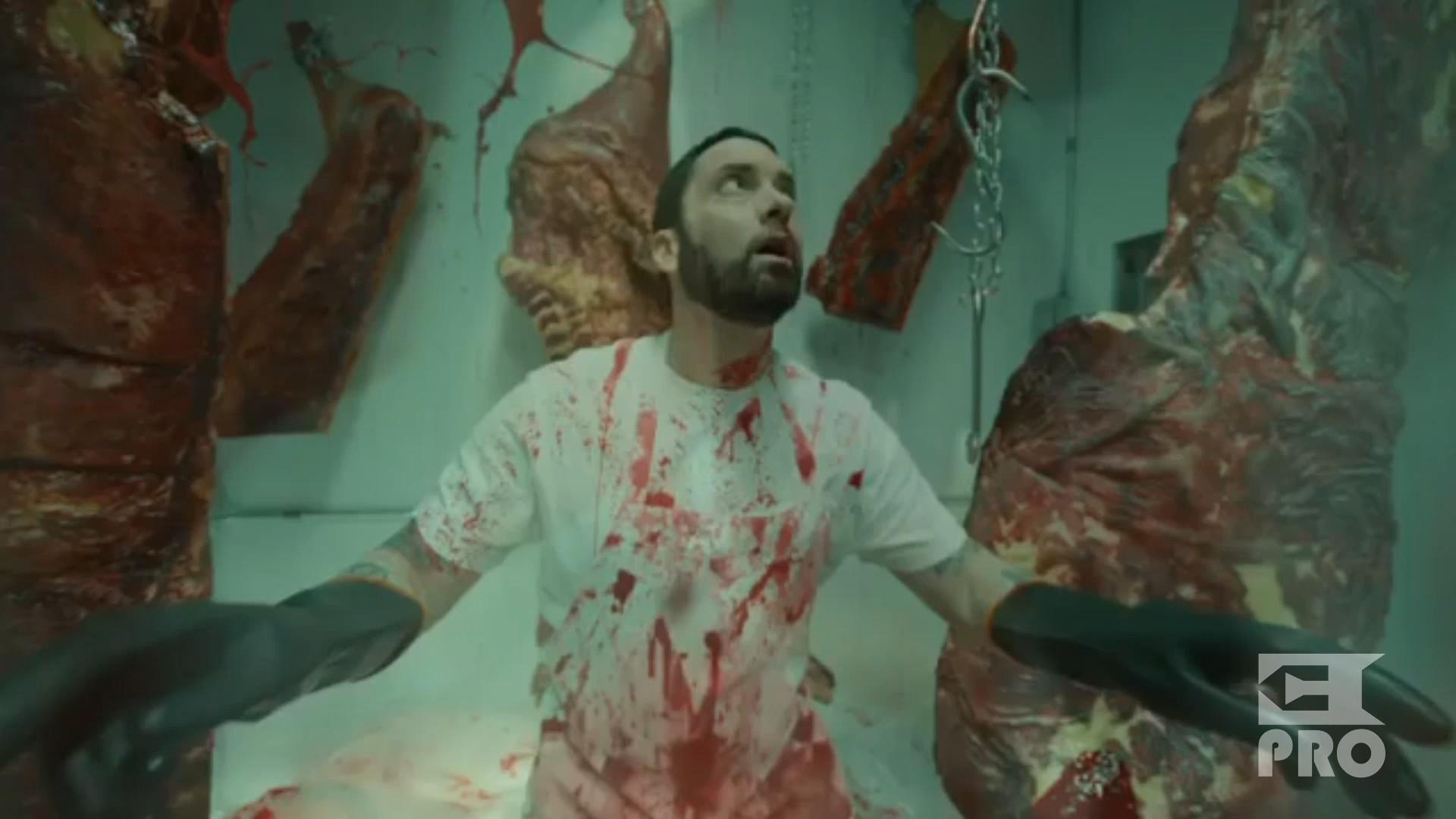 "Watch the teaser of Eminem's ""Godzilla"" video"