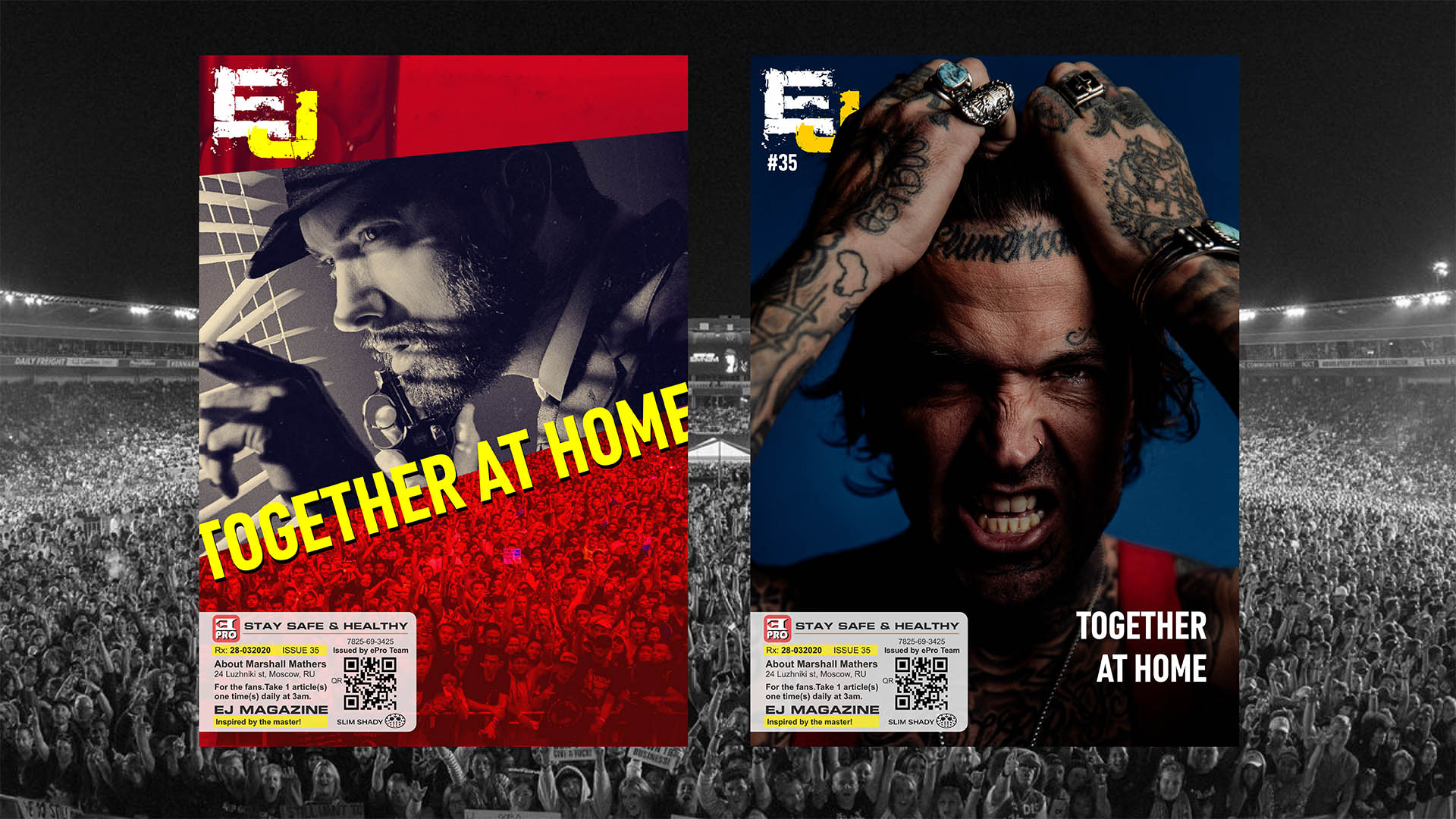 EJ Magazine #35 Available Now. Stay Safe And Healthy!