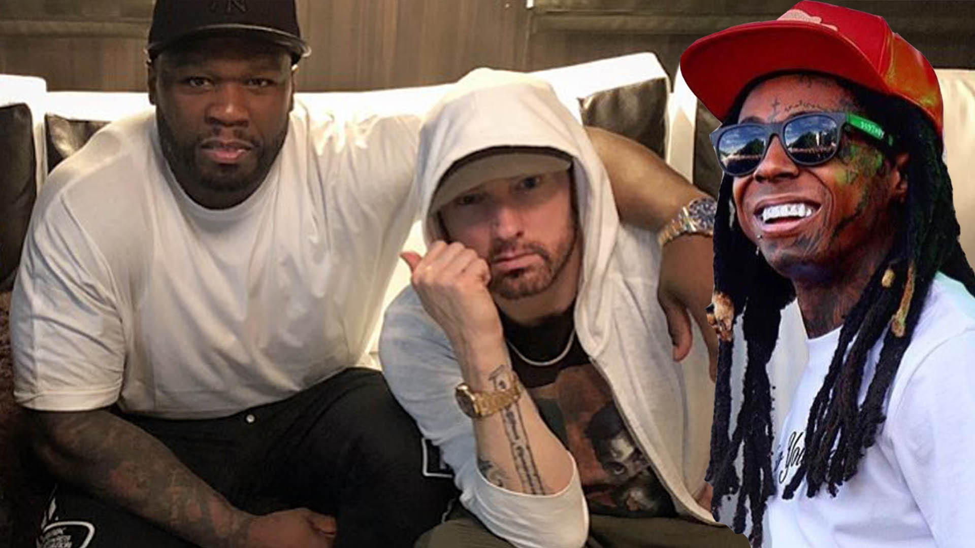 50 Cent Says To Lil Wayne Rappers Would Not Be Able To Sell Without Eminem