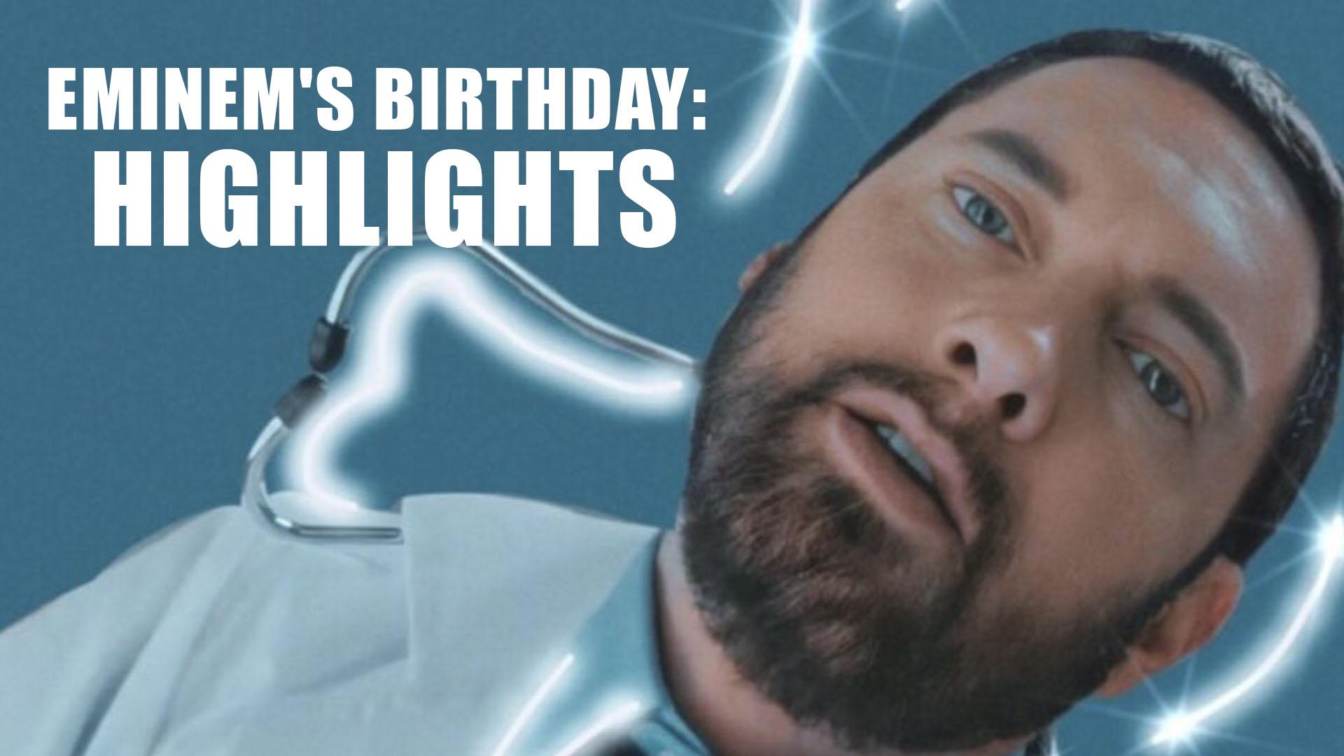 Fans Celebrate Eminem's Birthday: Highlights