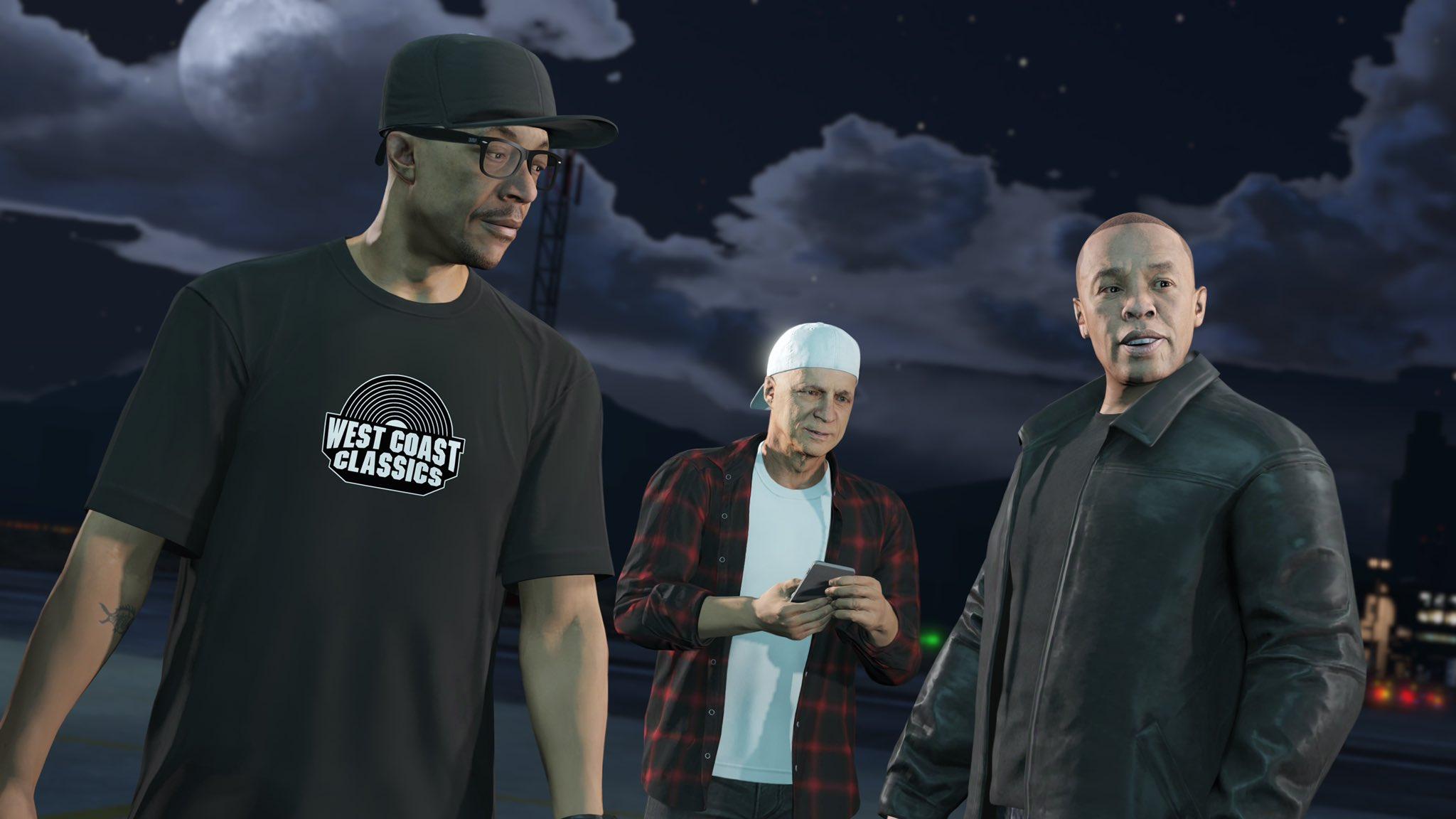 Dr. Dre, Jimmy Iovine, Scott Storch & DJ Pooh Cameo in GTA 5: The Cayo Perico Heist [Full Video]