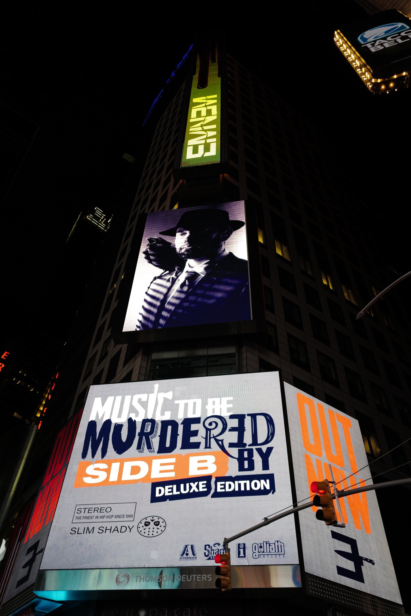 New Posters And Billboards For Eminem's M2BMB