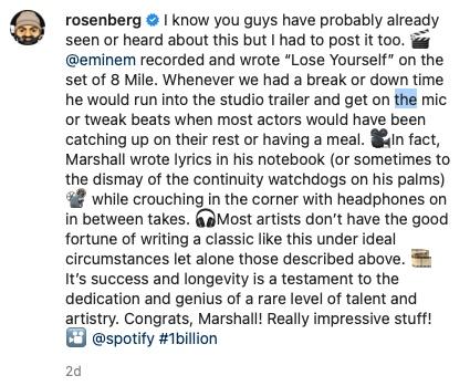 "Paul Rosenberg Shares the Origins Story Behind Eminem's ""Lose Yourself"""