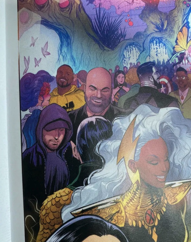 Check out Eminem and Paul Rosenberg's cameo at the X-Men Hellfire Gala
