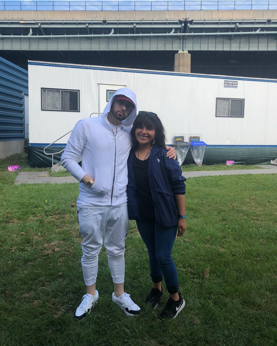 Eminem and Lupe Lopez